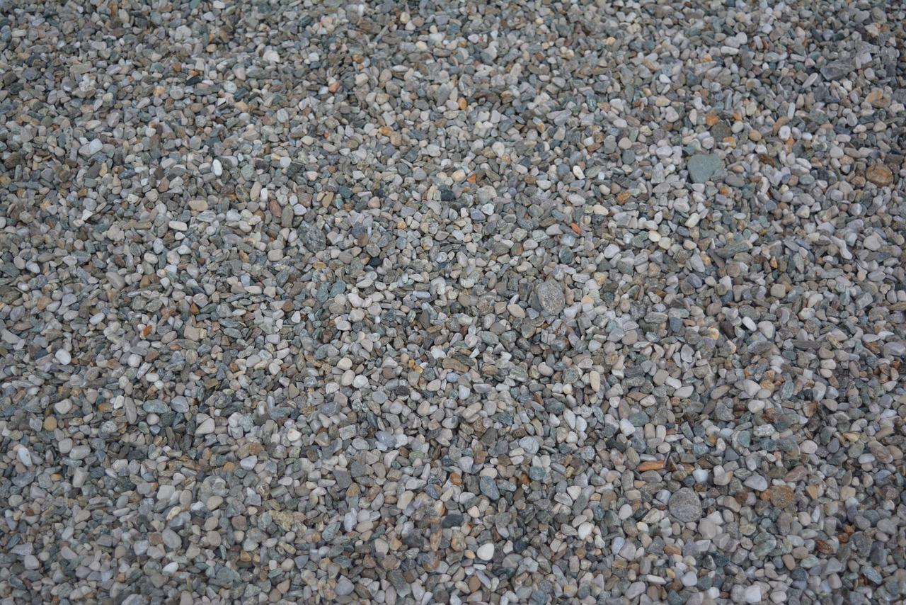 Ein schöner Steinteppich