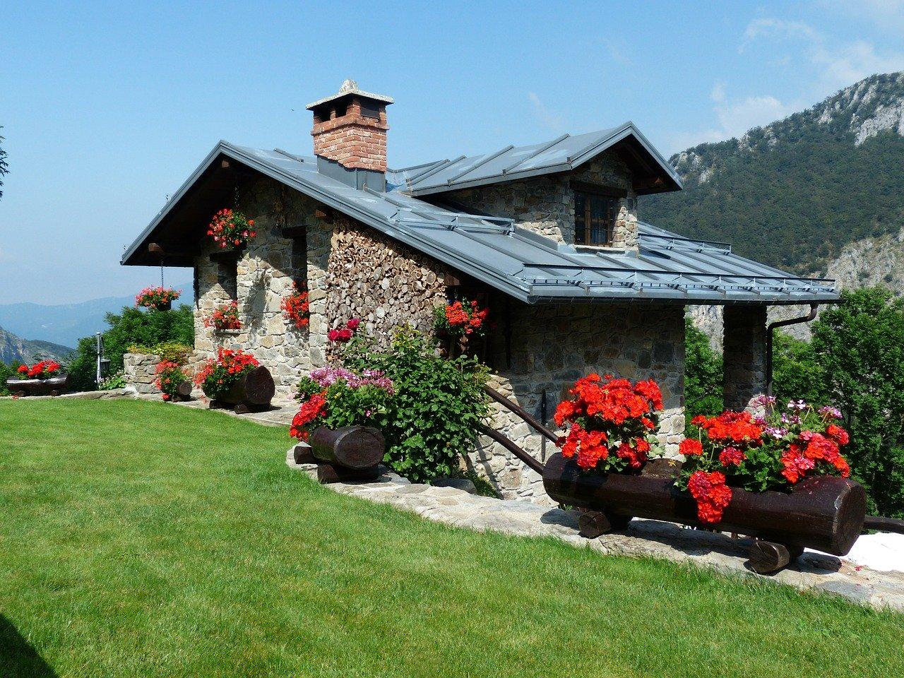 Ein Ferienhaus bauen