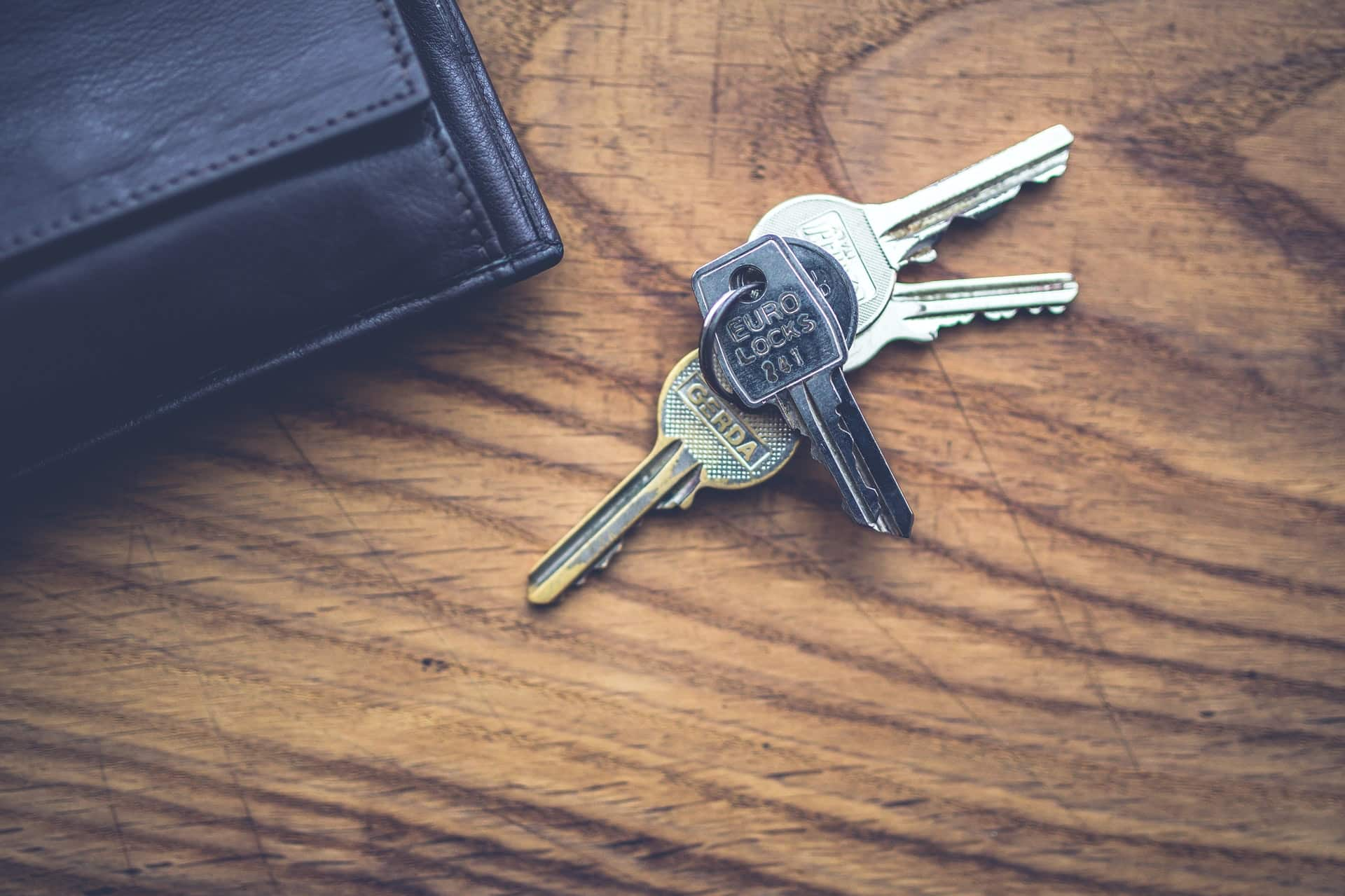 Schlüssel Geldbörse